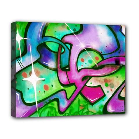 Graffity Deluxe Canvas 20  X 16  (framed) by Siebenhuehner