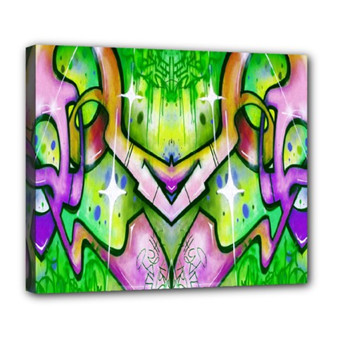 Graffity Deluxe Canvas 24  X 20  (framed) by Siebenhuehner