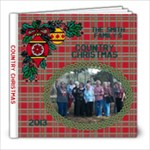 Country Christmas - 8x8 Photo Book (20 pages)