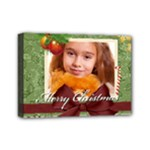 merry christmas - Mini Canvas 7  x 5  (Stretched)