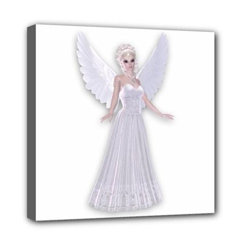 Fairy Faerie Mini Canvas 8  X 8  (framed) by goldenjackal