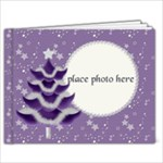 Purple Christmas_9x7 - 9x7 Photo Book (20 pages)