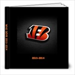 2013-2014 Bengals Scrapbook - 8x8 Photo Book (20 pages)