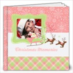 Pink Merry-Santa-Snow- 12x12 Photo Book - 12x12 Photo Book (20 pages)