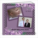 My lilac Picture book 8x8  (39 pages) - 8x8 Photo Book (20 pages)