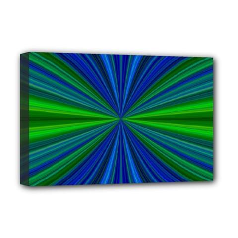 Design Deluxe Canvas 18  X 12  (framed) by Siebenhuehner