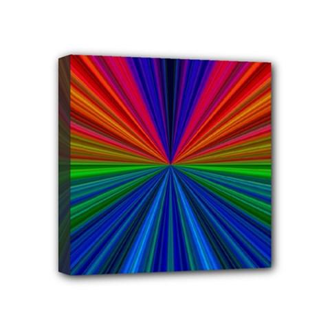 Design Mini Canvas 4  X 4  (framed) by Siebenhuehner