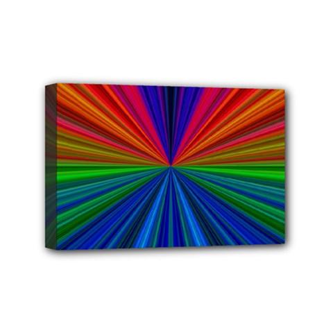 Design Mini Canvas 6  X 4  (framed) by Siebenhuehner