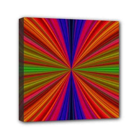 Design Mini Canvas 6  X 6  (framed) by Siebenhuehner