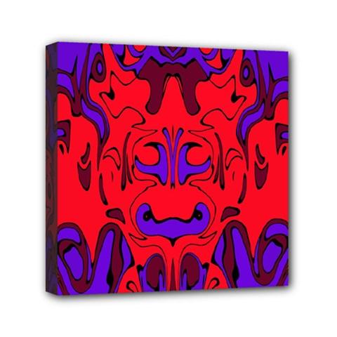 Abstract Mini Canvas 6  X 6  (framed) by Siebenhuehner