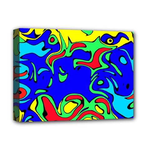 Abstract Deluxe Canvas 16  X 12  (framed)  by Siebenhuehner
