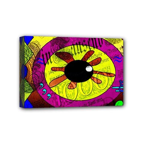 Abstract Mini Canvas 6  X 4  (framed) by Siebenhuehner