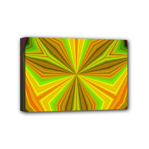 Abstract Mini Canvas 6  X 4  (framed) by Siebenhuehner