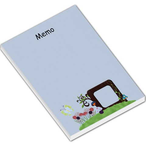 Wonderland Memo By Cherish Collages   Large Memo Pads   Jv2zu07qg19e   Www Artscow Com