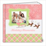 Pink Christmas-Holiday Photo Book 8x8 - 8x8 Photo Book (20 pages)