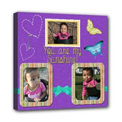 sunshine canvas 8x8 - Mini Canvas 8  x 8  (Stretched)