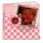 Baby Girl - 8x8 Photo Book (20 pages)