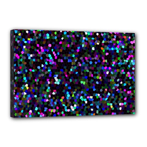 Glitter 1 Canvas 18  x 12  (Framed)