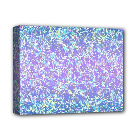 Glitter2 Deluxe Canvas 14  X 11  (framed) by MedusArt