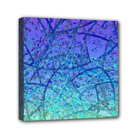 Grunge Art Abstract G57 Mini Canvas 6  X 6  (stretched) by MedusArt