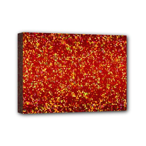 Glitter 3 Mini Canvas 7  X 5  (framed) by MedusArt