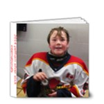 hockey silver stick 3 - 4x4 Deluxe Photo Book (20 pages)