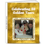 50th Anniversary 8X10 Deluxe Album - 8x10 Deluxe Photo Book (20 pages)