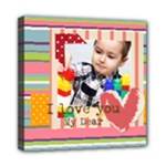 kids - Mini Canvas 8  x 8  (Stretched)
