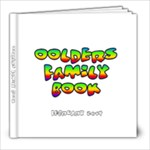8x8 oolders fam photo bk - 8x8 Photo Book (20 pages)