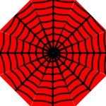 Spiderweb Hook Handle Umbrella (large)