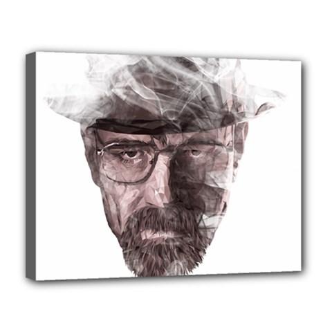 Heisenberg  Canvas 14  X 11  (framed) by malobishop