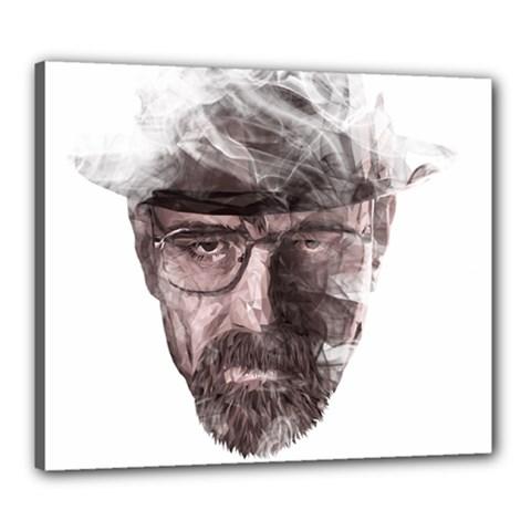 Heisenberg  Canvas 24  x 20  (Framed) by malobishop