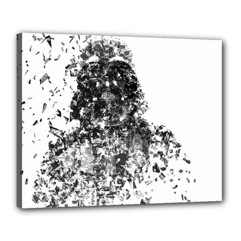Darth Vader Canvas 20  X 16  (framed) by malobishop
