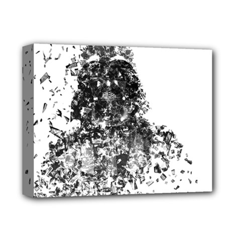 Darth Vader Deluxe Canvas 14  x 11  (Framed) by malobishop
