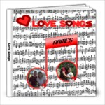 Love Song 8x8 photo book - 8x8 Photo Book (20 pages)