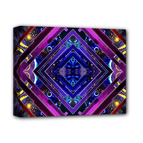 Galaxy Deluxe Canvas 14  X 11  (framed) by Rbrendes
