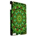 Peacock Feathers Mandala Apple iPad 3/4 Hardshell Case View2