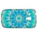 Blue Ice Goddess, Abstract Crystals Of Love Samsung Galaxy S3 MINI I8190 Hardshell Case View1
