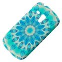 Blue Ice Goddess, Abstract Crystals Of Love Samsung Galaxy S3 MINI I8190 Hardshell Case View4