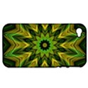 Woven Jungle Leaves Mandala Apple iPhone 4/4S Hardshell Case (PC+Silicone) View1
