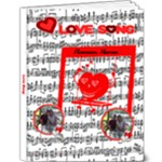 Love Song 9x12 delux album - 9x12 Deluxe Photo Book (20 pages)