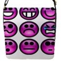 Chronic Pain Emoticons Removable Flap Cover (Small) View1