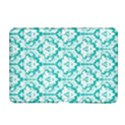 White On Turquoise Damask Samsung Galaxy Tab 2 (10.1 ) P5100 Hardshell Case  View1
