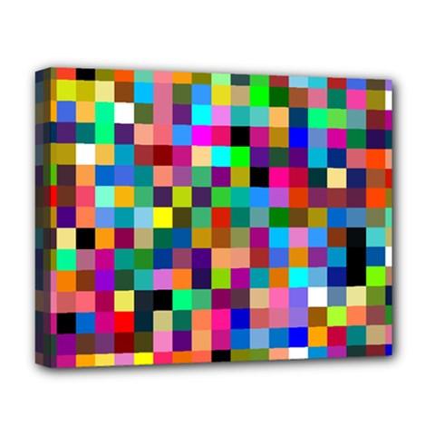 Tapete4 Deluxe Canvas 20  X 16  (framed) by Siebenhuehner