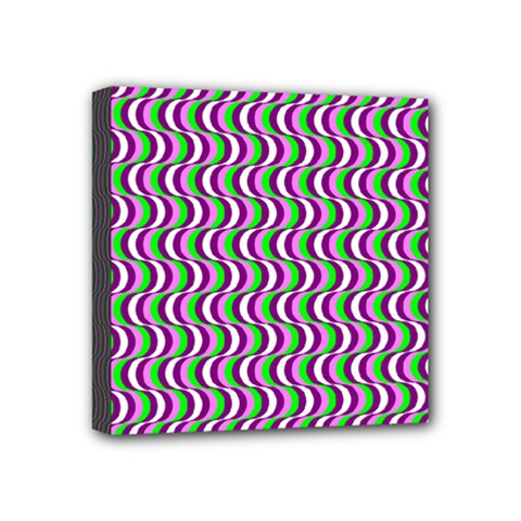 Pattern Mini Canvas 4  X 4  (framed) by Siebenhuehner