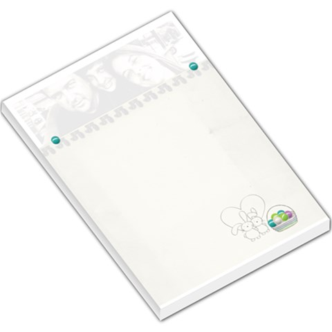 Large Memo Pads Easter 1 By Deca   Large Memo Pads   P2ih6yteo2us   Www Artscow Com