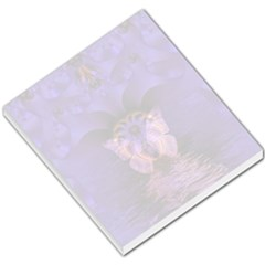 Artsy Purple Butterfly Small Memo Pad by FunWithFibro