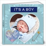 Cherished Baby Boy 12x12 Photo Book - 12x12 Photo Book (20 pages)