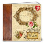 Vintage Valentine - 8x8 Photo Book (20 pages)