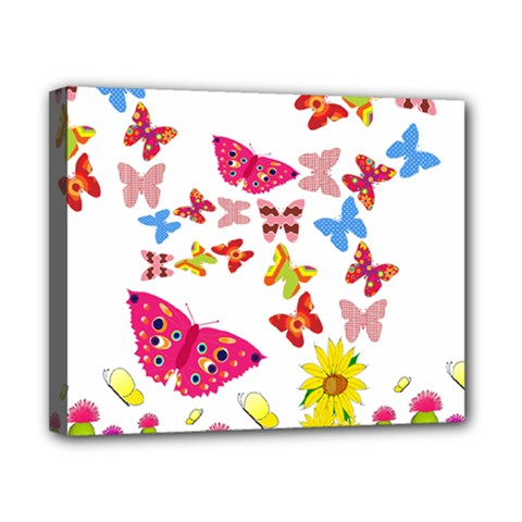 Butterfly Beauty Canvas 10  X 8  (framed) by StuffOrSomething